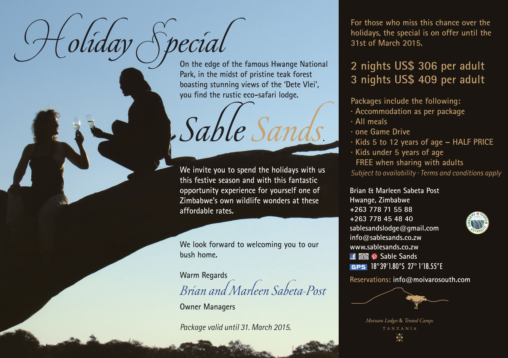 Sable Sands Holiday Ad.indd